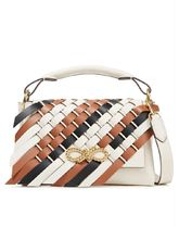 ★Anya Hindmarch★Rope Bow woven leather shoulder bag