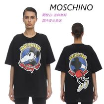 SALE☆送料関税込★MOSCHINO★Mickey Rat  Tシャツ