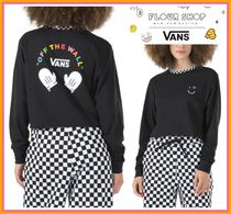 コラボ!! ◆VANS X FLOUR SHOP◆ SMILEY LONG SLEEVE TEE