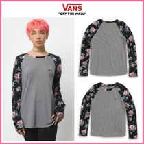 20-21AW新作!! ◆VANS◆ FLOWER FRIEND RAGLAN TEE