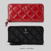 MARC JACOBS◆THE QUILTED SOFTSHOT STANDARD CONTINENTAL WALLE