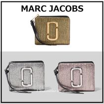 MARC JACOBS☆THE SNAPSHOT GLITTER MINI COMPACT WALLET☆
