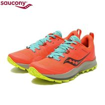☆SAUCONY WMNS PEREGRINE 10 V.RED/CITRON 国内発送 正規品!