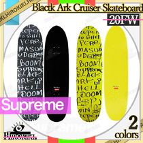 20FW /Supreme Black Ark Cruiser Skateboard Deck デッキ