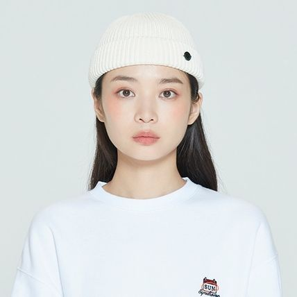 ROMANTIC CROWN ニットキャップ・ビーニー ROMANTIC CROWN★BTS愛用★LAUREL LOGO WATCH CAP(3)