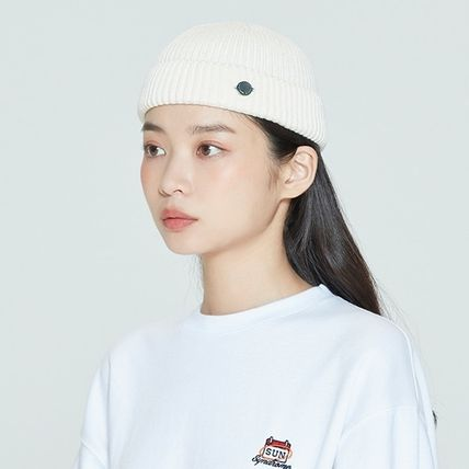 ROMANTIC CROWN ニットキャップ・ビーニー ROMANTIC CROWN★BTS愛用★LAUREL LOGO WATCH CAP(5)