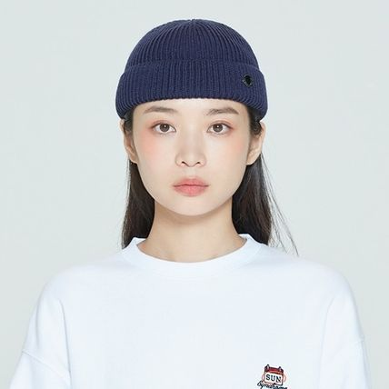 ROMANTIC CROWN ニットキャップ・ビーニー ROMANTIC CROWN★BTS愛用★LAUREL LOGO WATCH CAP(9)