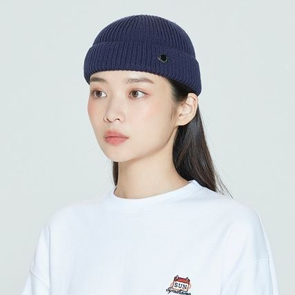 ROMANTIC CROWN ニットキャップ・ビーニー ROMANTIC CROWN★BTS愛用★LAUREL LOGO WATCH CAP(11)