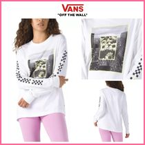 20-21AW新作!! ◆VANS◆ ROOM VIEW LONG SLEEVE BOYFRIEND TEE
