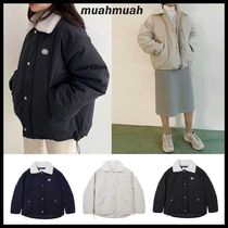 ●MUAHMUAH● WAPPEN DUMBLE FIELD JUMPER 3色 可愛い パーカー