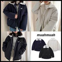 ◆MUAHMUAH◆ WAPPEN DUMBLE FIELD JUMPER (3色) 韓国発 人気