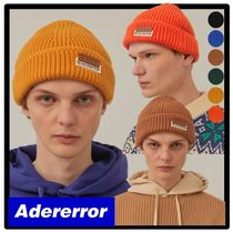 ☆送料・関税込☆Adererror★Layered label beani.e★ビーニー