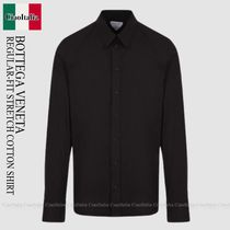BOTTEGA VENETA REGULAR-FIT STRETCH COTTON SHIRT