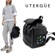 【Uterque】NYLON STONES IN / OUT BACKPACK