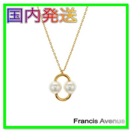 kate spade new york ネックレス・ペンダント 国内Kate Spade Nouveau Pearls Pendant ダブルパールネックレス