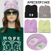 A PIECE OF CAKE★限定販売★Double Patch Beanie ビーニー