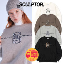 SCULPTOR Satin Applique Sweatshirt BBH757 追跡付