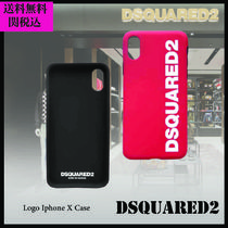 ☆DSQUARED2☆ ディースクエアード Logo Iphone X Case 赤 黒