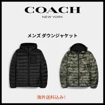 【Coach】Packable Hooded Down Jacket
