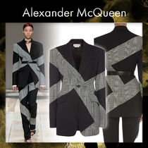 【20AW NEW】 alexander mcqueen_women / スプライスジャケット