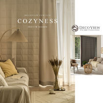 ◇ Decoview ◆ Cozyness Winter Curtain 暖かい冬のカーテン♪