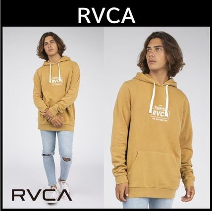 ☆RVCA☆Boxed In Pullover Sweatshirt☆パーカー ロゴ入り★