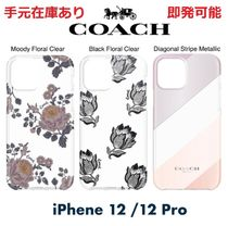 ◆COACH◆iPhone 12 / iPhone 12 Proケース