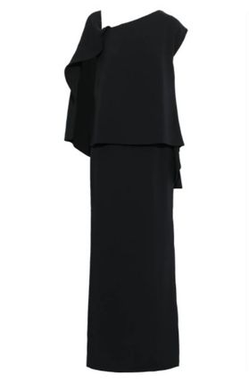TOM FORD ワンピースその他 関税・送込 TOM FORD☆Layered lace-up stretch-silk ponte gown(2)