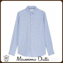 MassimoDutti♪SLIM FIT PRINT 100% COTTON SHIRT