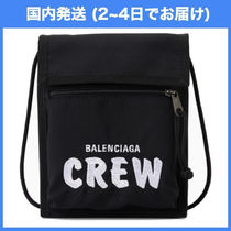 安心の国内即発☆ BALENCIAGA CREW Explorer crossbody bag