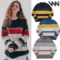 WV PROJECT★Bread Round Knit MJKN7410 4カラー