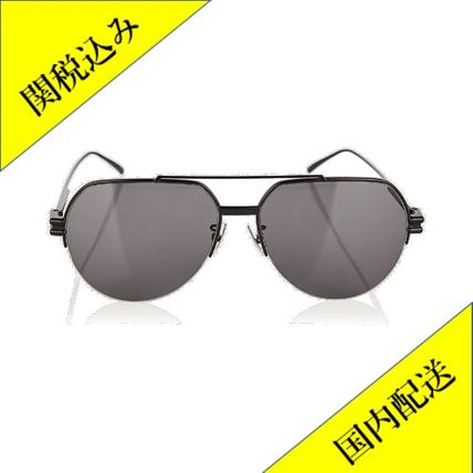 BOTTEGA VENETA サングラス 関税込! Aviator metal sunglasses