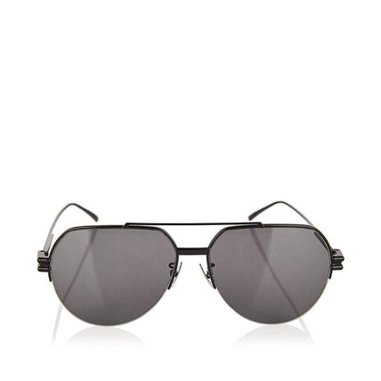 BOTTEGA VENETA サングラス 関税込! Aviator metal sunglasses(2)