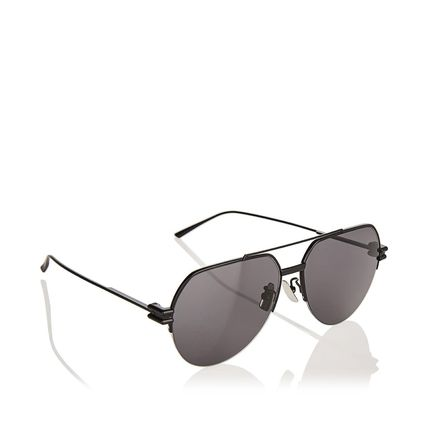 BOTTEGA VENETA サングラス 関税込! Aviator metal sunglasses(3)