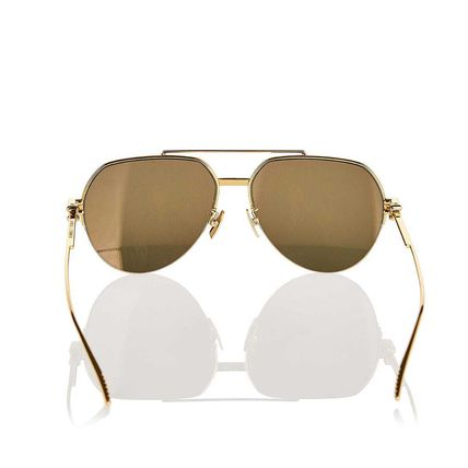 BOTTEGA VENETA サングラス 関税込! Aviator metal sunglasses(4)