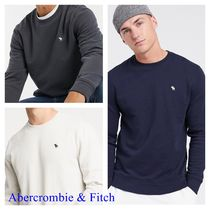 ★Abercrombie&Fitch★ロゴ クルーネック スウェット【送料込】