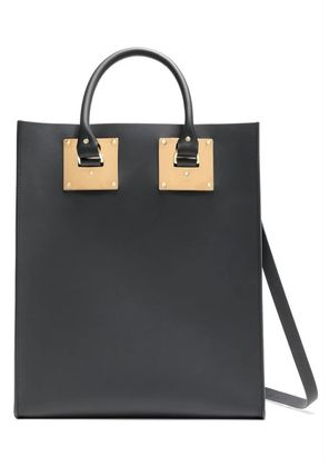 ★SOPHIE HULME(ソフィーヒュルム)★Albion matte-leather tote