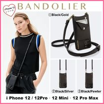 iPhone 12 シリーズ!! ☆Bandolier☆ Emma Pebble Leather
