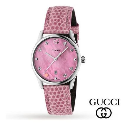 Pink Mother of Pearl ☆GUCCI☆ G-Timeless 29 ウォッチ♪