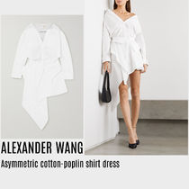 {ALEXANDER WANG} Asymmetric shirt dress 送料関税込