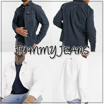◆TOMMY JEANS◆フラッグロゴツイルシャツ 送料込み