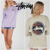 【Stussy】Root Pigment Long Sleeve T-Shirt ロゴ 長袖 Tシャツ