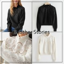 【& Other Stories】 Wool Blend Scalloped セーター