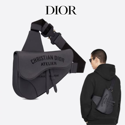 国内発送DIOR*新作*Christian Dior Atelier SADDLE バッグ