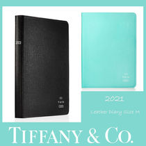Tiffany&CO.★2021 Leather Diary プランナーSizeM/2カラー★