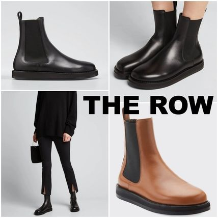 【THE ROW】Gaia Boot in Leather ガイアレザーゴードブーツ