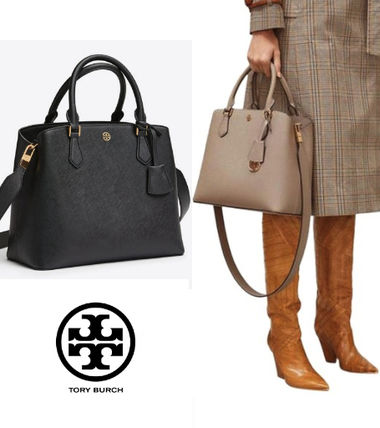 Tory Burch 人気の2Way Bag! ROBINSON TRIPLE-COMPARTMENT TOTE