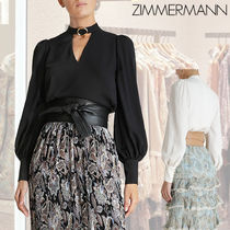 ZIMMERMANN ★BUCKLE COLLAR TUNIC BLOUSE★ チュニックブラウス