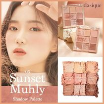 ◆DASIQUE◆ SHADOW PALETTE 05 SUNSET MUHLY 新作 韓国人気