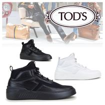 TOD'S NO_CODE X HIGH TOP IN LEATHER ハイトップ スニーカー